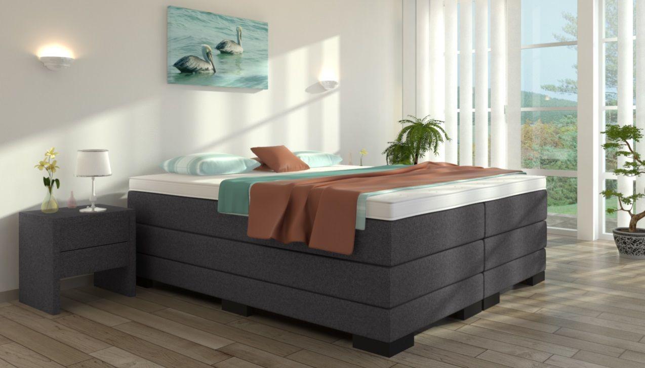 Boxspringbett Gustav 180 X 200 Cm Boxspringbett Bett Und Schlafzimmer Dachschrage