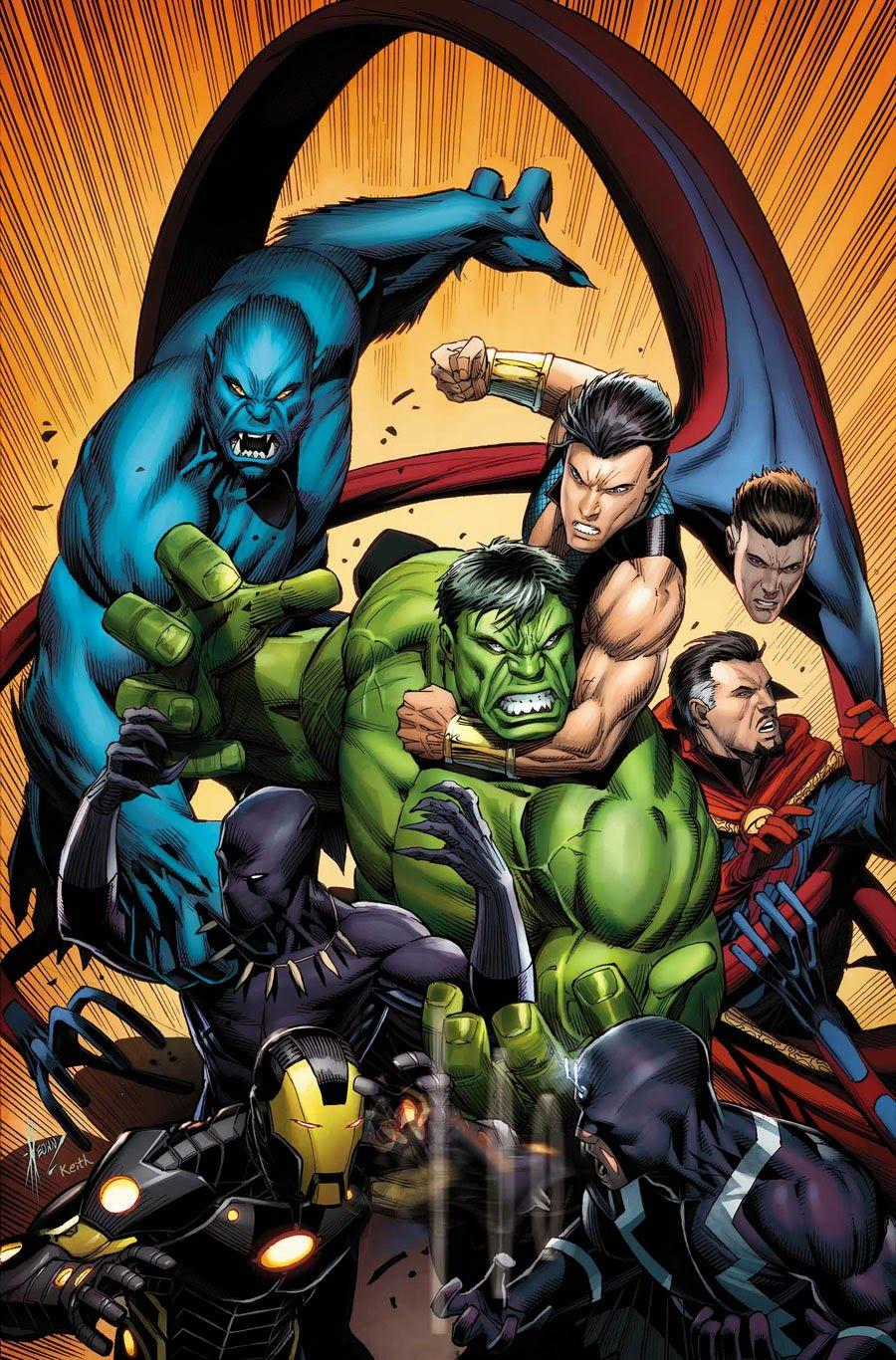 #Hulk #Fan #Art. (NEW AVENGERS #22 & 23 Cover) By: DALE KEOWN. (THE * 5 * STÅR * ÅWARD * OF * MAJOR ÅWESOMENESS!!!™)