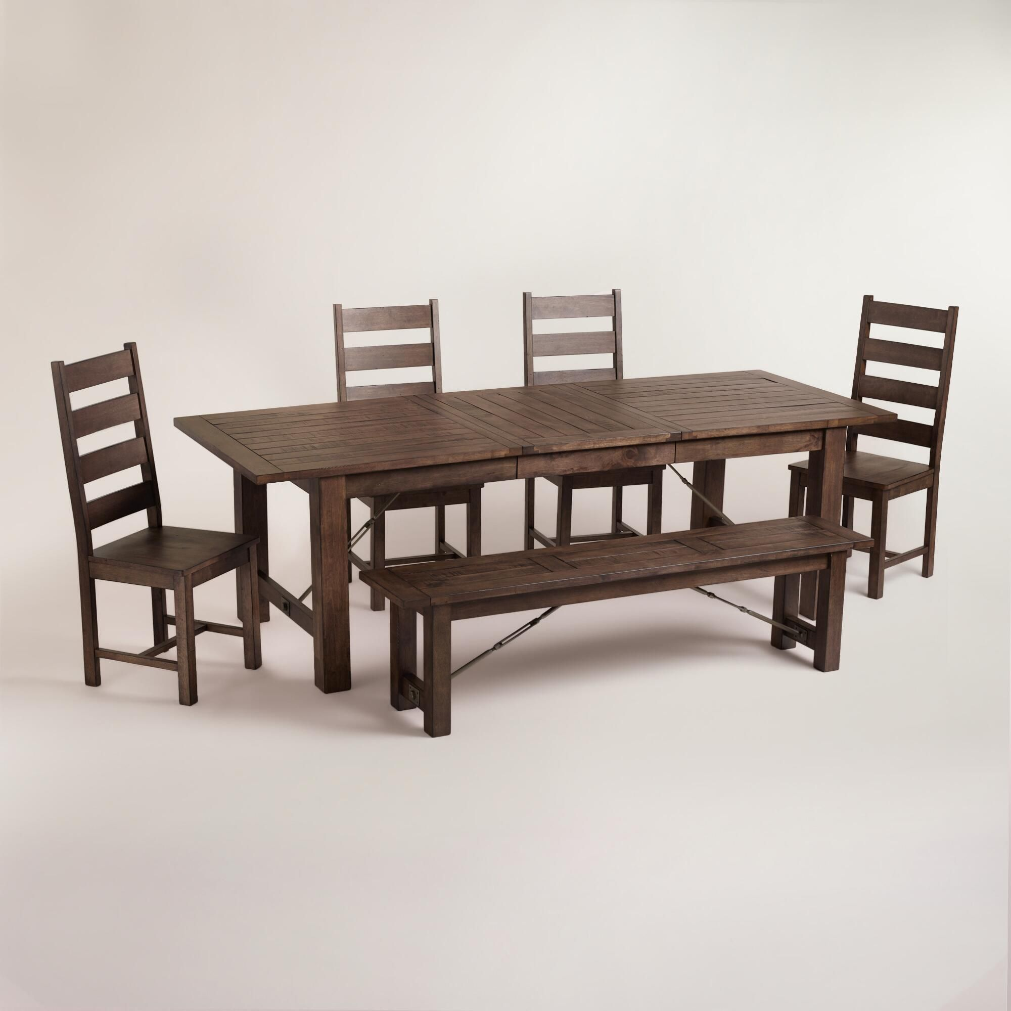Versatile Kitchen Table And Chair Sets For Your Home: Beautifully Weathered Yet Built To Last, Our Garner