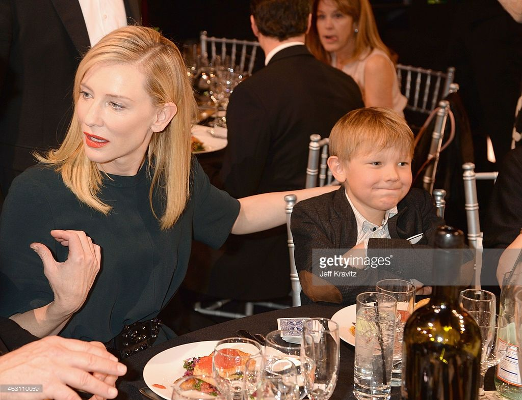 Actress Cate Blanchett And Son Ignatius Martin Upton Attend The