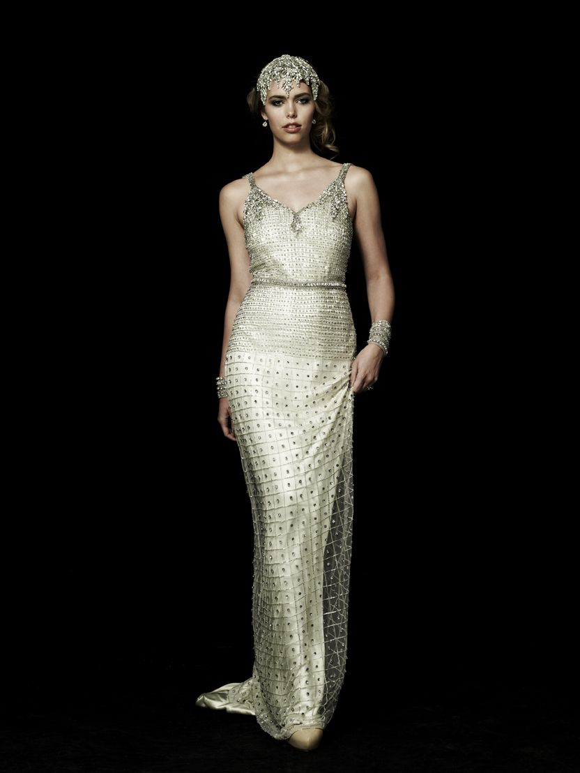 The heiress gown still is the night collection modern deco