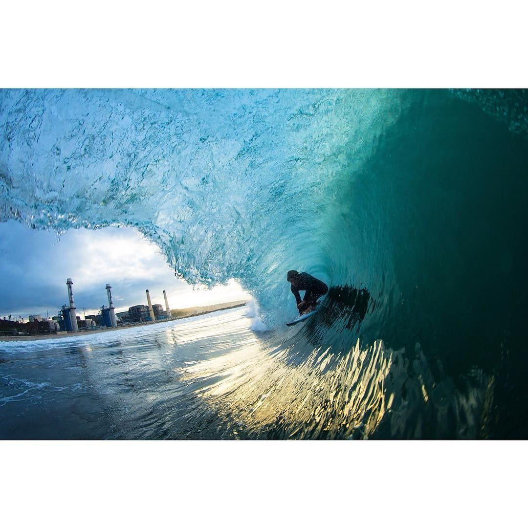 Photo of the Day: @patschmidt Los Angeles. Photo: @tomcarey #Surfer #SurferPhotos by surfer_magazine