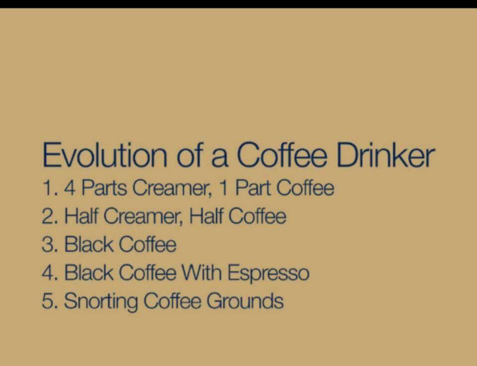 Evolution of a Coffee Drinker | I Love Coffee♥/Café in 2019 ... #blackCoffee