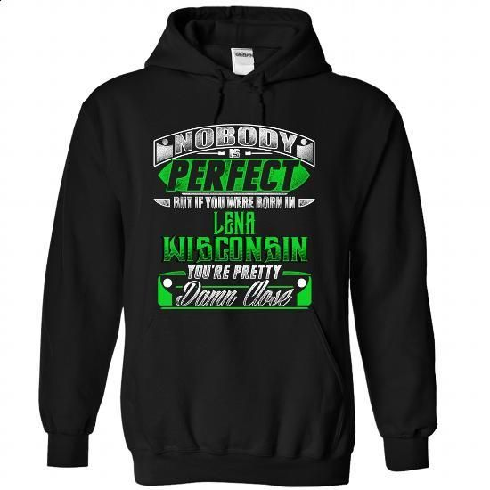 Born in LENA-WISCONSIN P02 - #green hoodie #sport shirts. CHECK PRICE => https://www.sunfrog.com/States/Born-in-LENA-2DWISCONSIN-P02-Black-Hoodie.html?id=60505