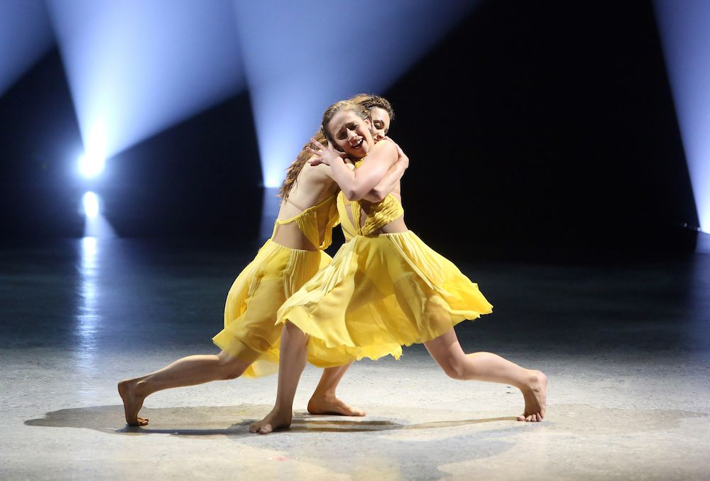 Tate McRae and Kathryn McCormick