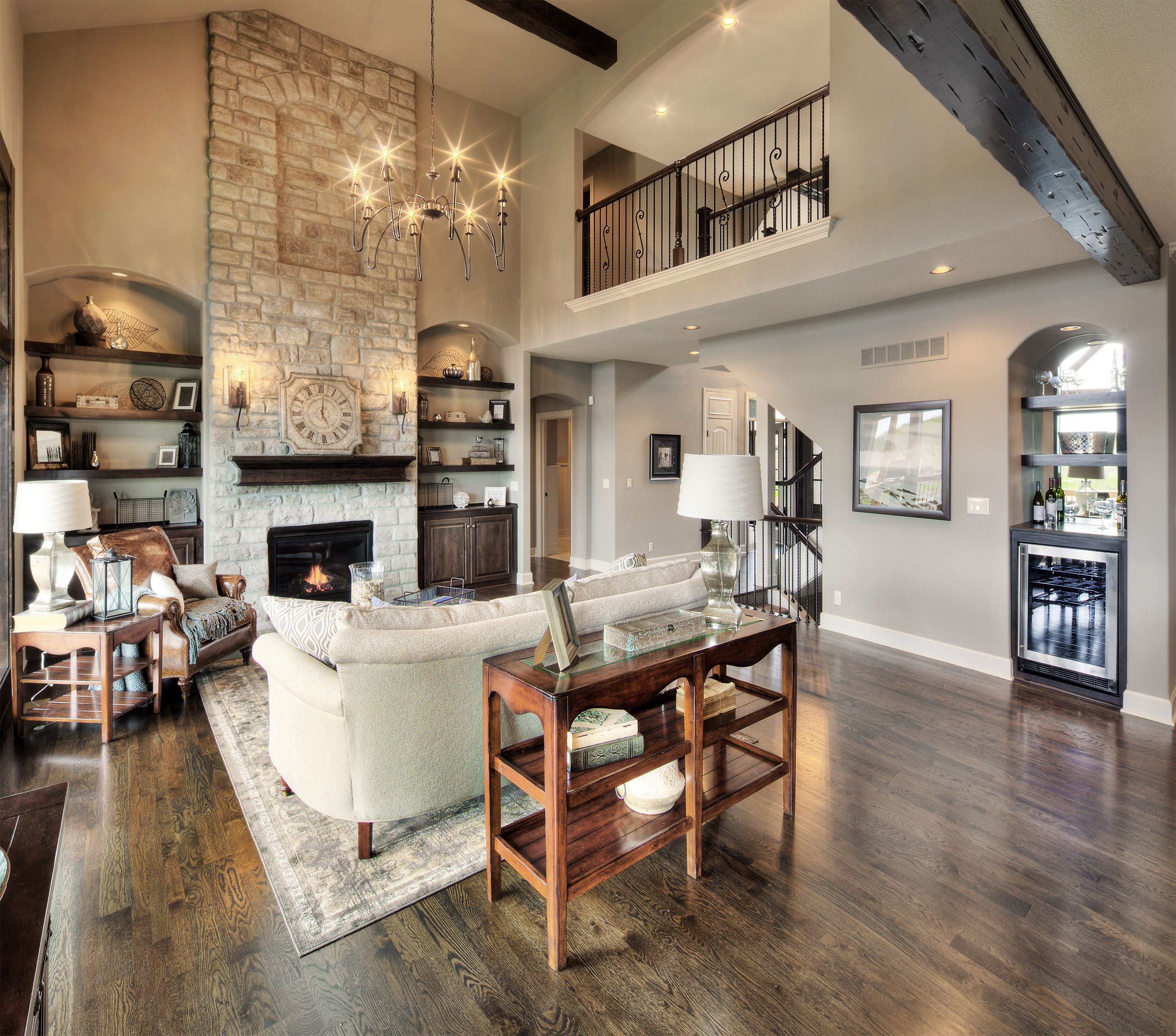 This is pretty much our floor plan, love opening up the ...