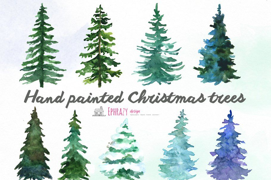 Christmas Tree Clipart Watercolor In 2020 Christmas Tree Clipart Watercolor Christmas Tree Christmas Tree Painting