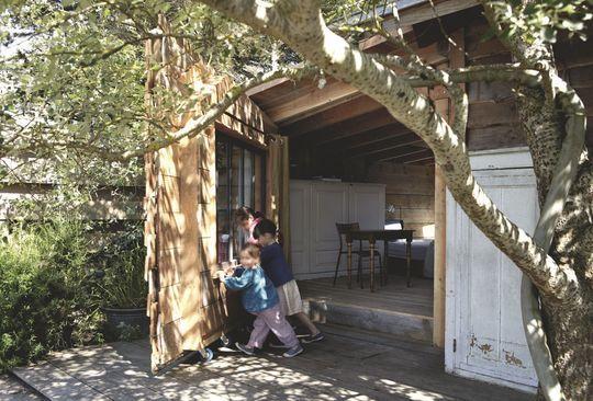 Cabane en bois habitable de 90m2 en Bretagne Cabane diy, Pièces