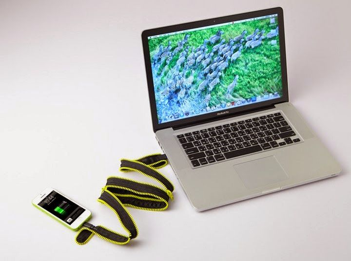 ZiPAC II - Unzip the Case to get a USB Cable