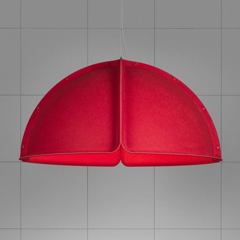 Modular Felt Lamp Hood By Form Us With Love For Atelje Lyktan