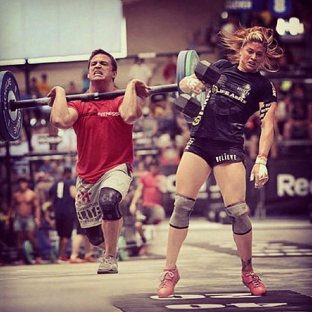 Crossfit Might Be One Of The Only Sports Where The Women S And Men S Competitions Are Held Together And Considered Equal The Crossfit Girls Crossfit Gym Time