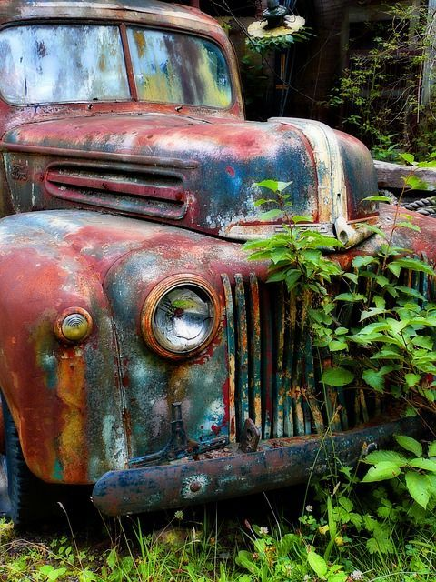 Free Image on Pixabay - Old, Rusty, Car, Truck, Ford