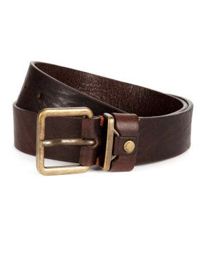 Metal keeper rivet belt
