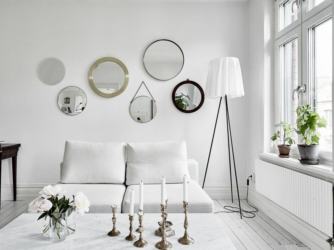 Miroirs et aquarelles white rooms living rooms and salons