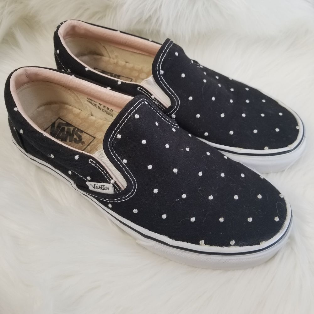 VANS Womens 8 Limited Edition Black