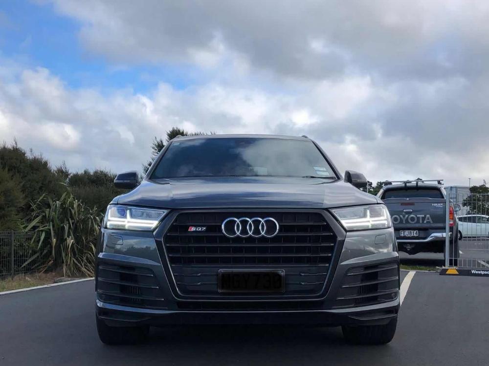 2018 Audi SQ7 V8 BiTDI Quattro 7 seater Trade Me Audi