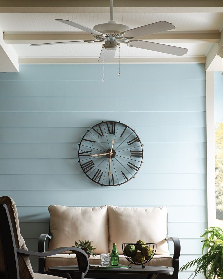 The Classic Transitional Design Of The Weatherford Ceiling Fan By