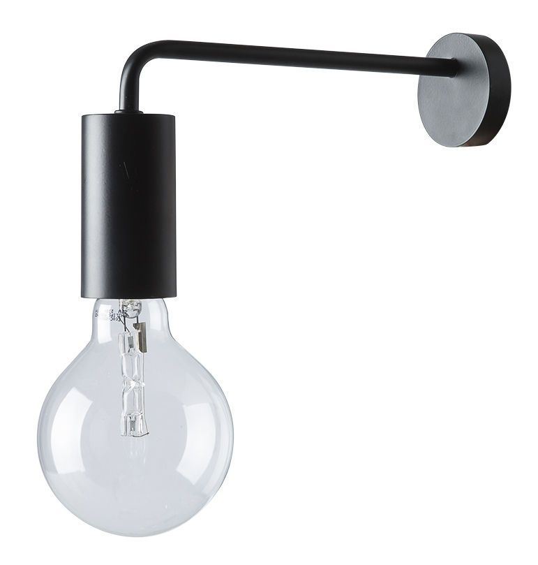 Cool Wall Light With Plug Black By Frandsen Made In Design Uk In 2020 Wall Lights Wall Lights Uk Wall Lamp