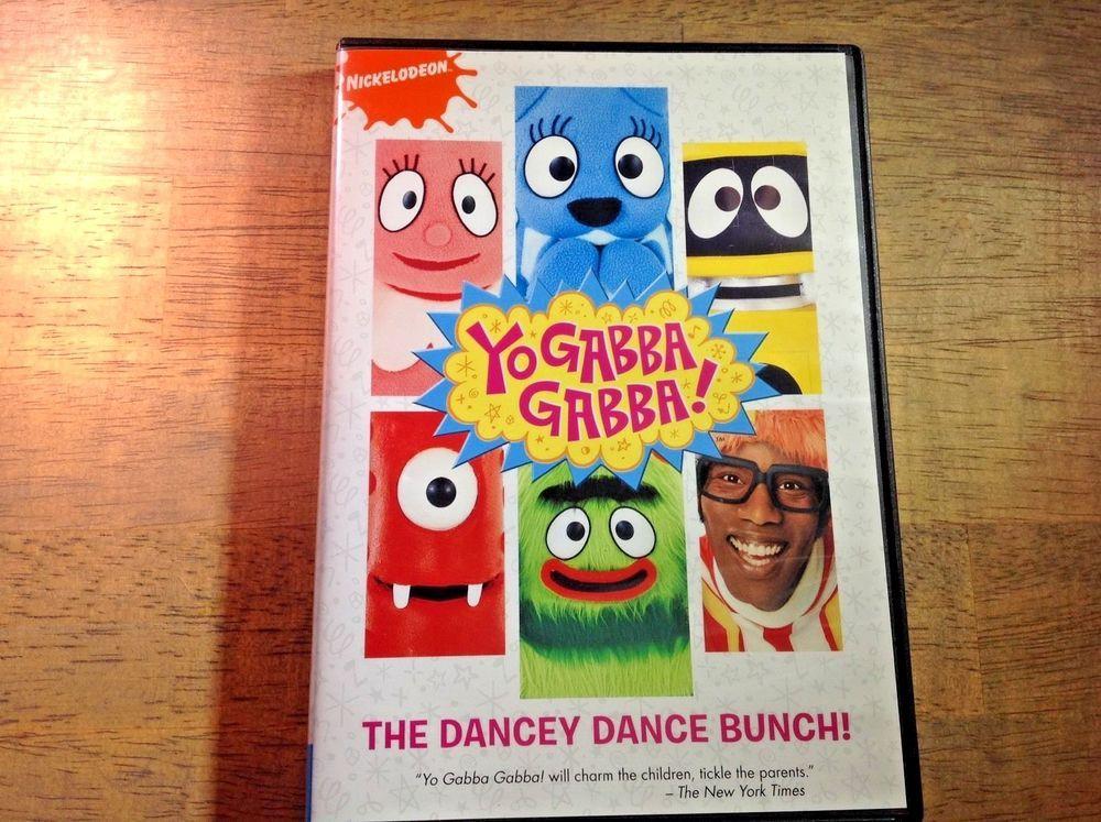 Yo Gabba Gabba - The Dancey Dance Bunch (DVD, 2008)  | eBay