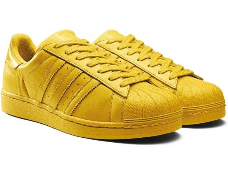 adidas zapatos amarillos