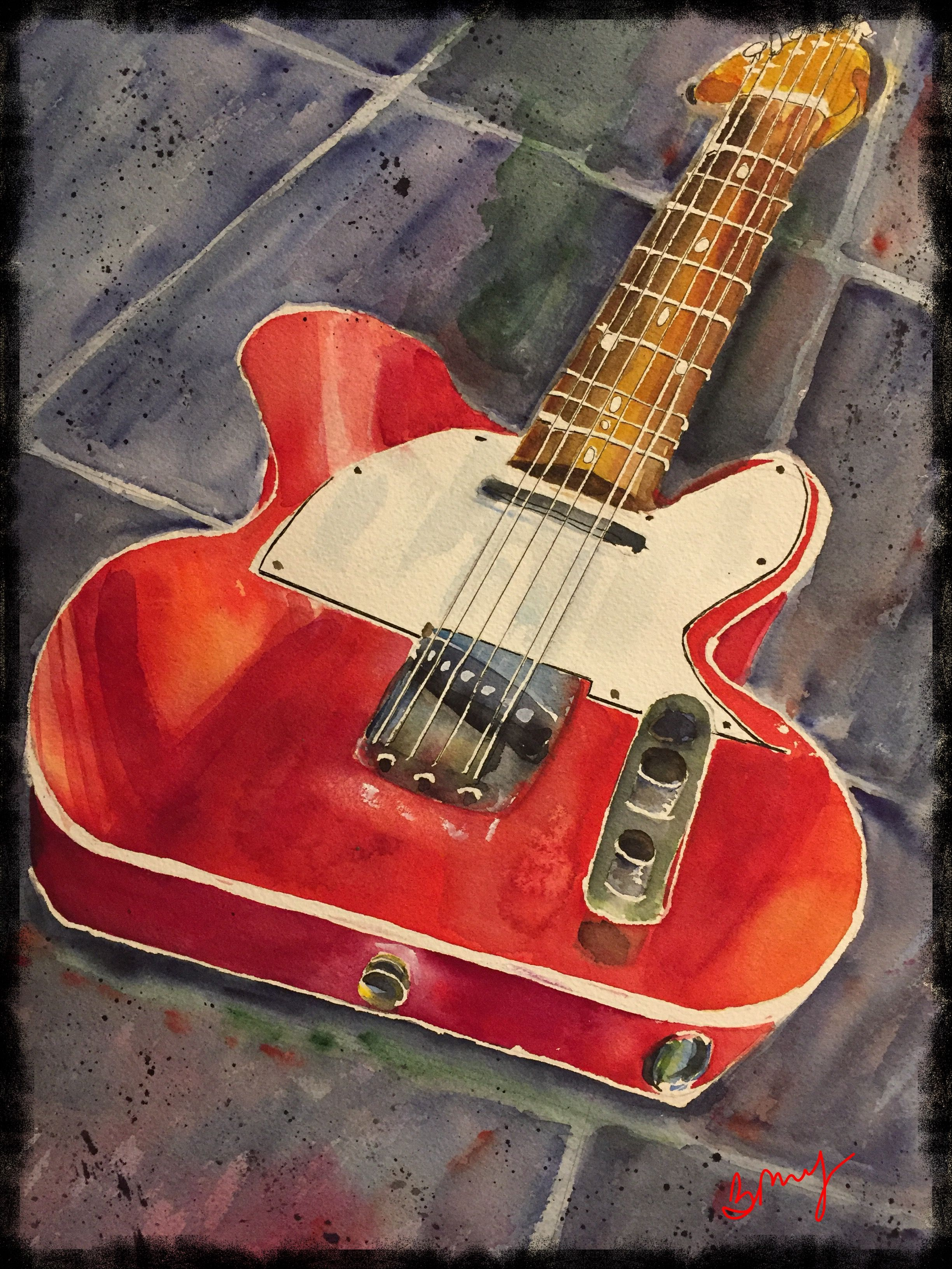 All I Have Is A Red Guitarthree Chords And The Truth Bob Dylan Red