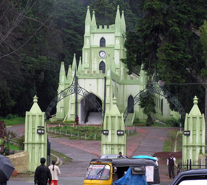 Coimbatore Attractions: This Is Famous Church In Ooty In India ,this Church Name