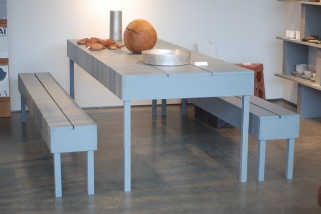 Future table and benches!  (I wish).