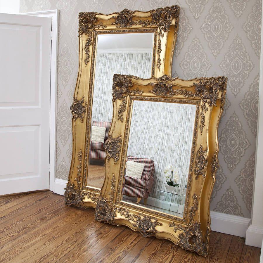 Vintage Ornate Gold Decorative Mirror Mirror Decor Ornate Mirror Decor