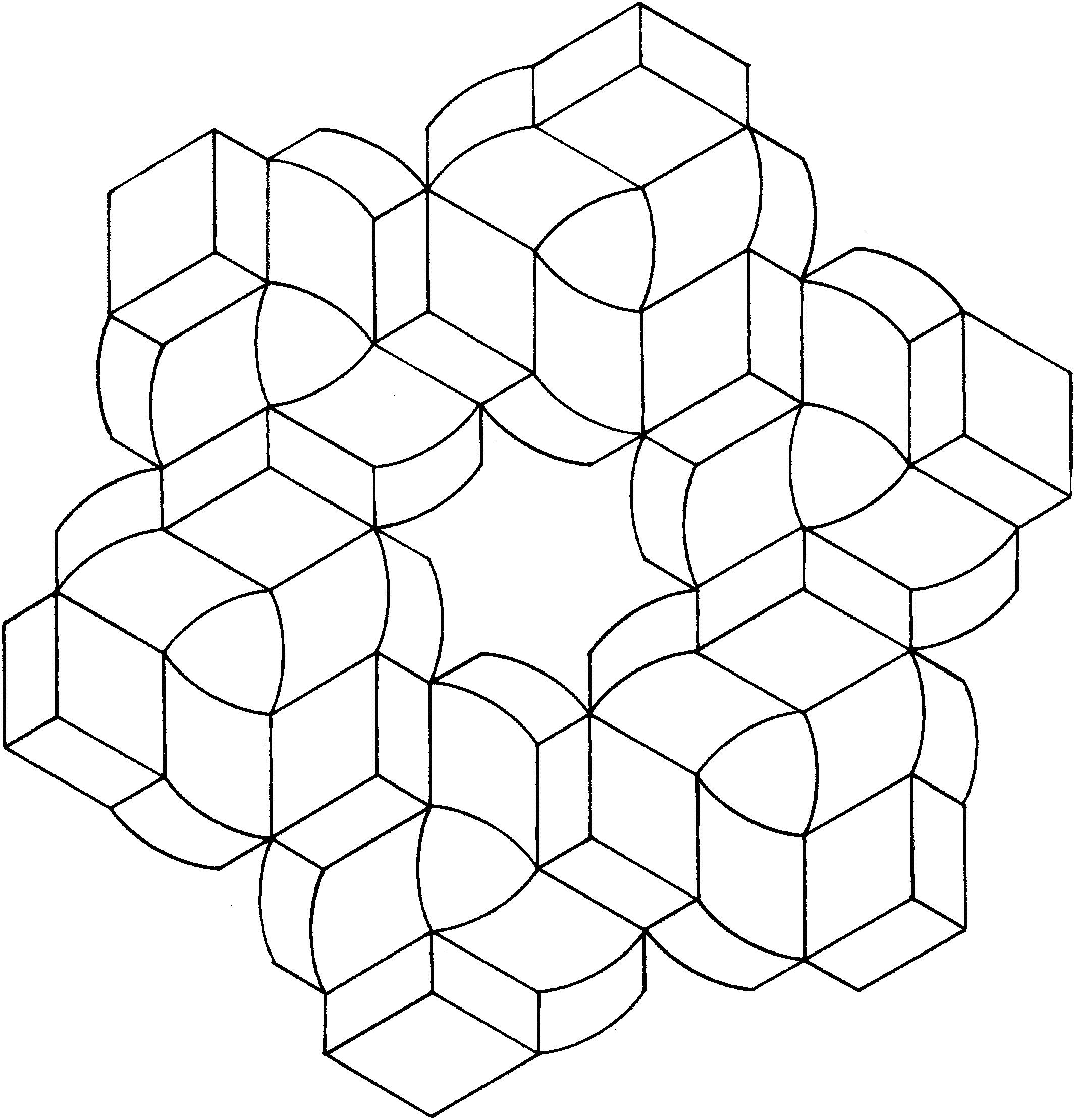 Optical Illusions Coloring Pages Coloring Pages Mandala Coloring Pages Optical Illusions