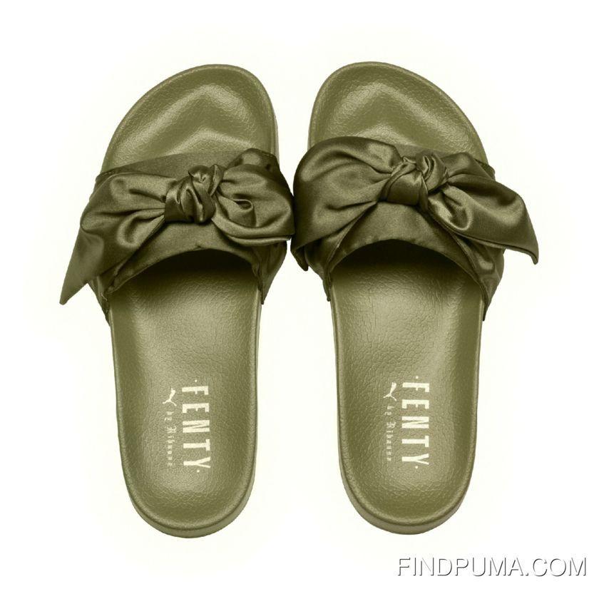 https   www.findpuma.com puma-x-fenty-bow-slides-olive-branchpuma ... 71ad6b49e
