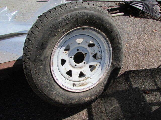 New Nankang Utility Trailer Tire St 205 75 R15 5 Lug Ebay World