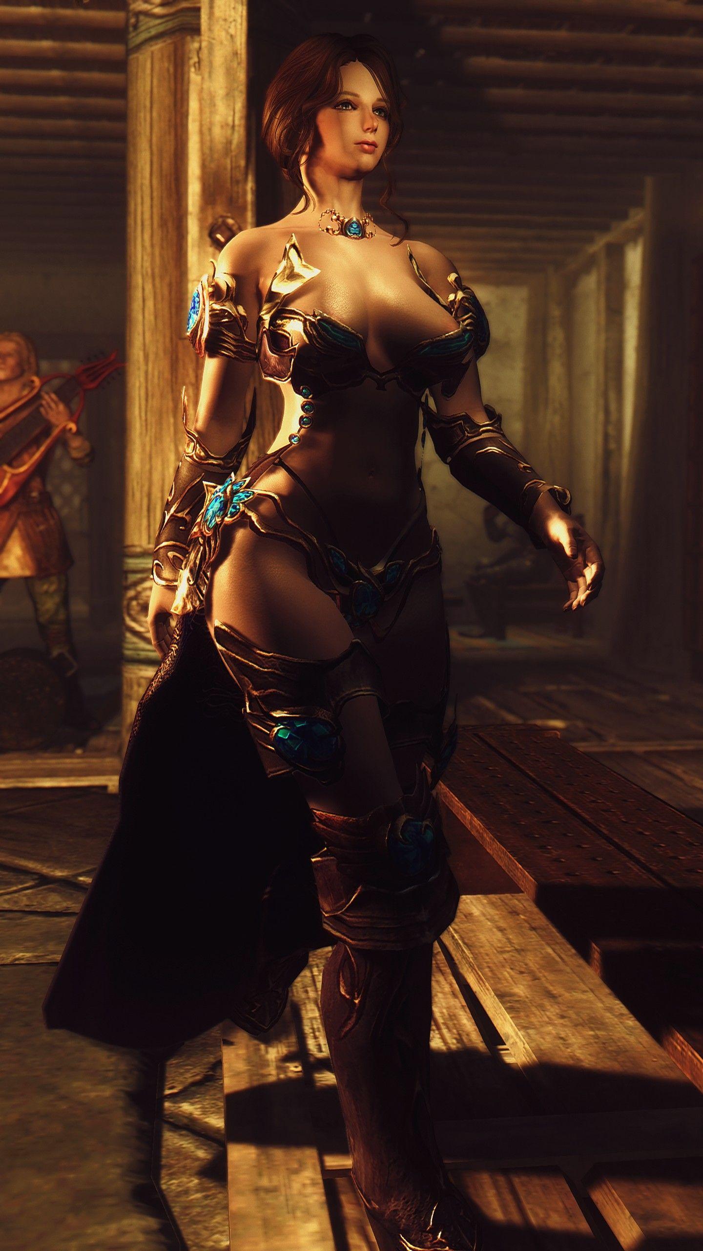 Summary -> Sexy Vanilla Female Armor For Unp And Sevenbase With Bbp