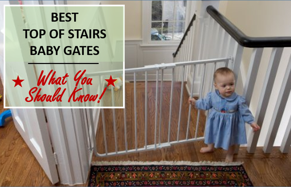 Best Top of Stairs Baby Gates from www.safebabyhappymommy
