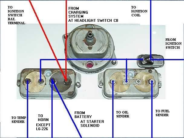 willys truck light switch wiring diagram - google search           1950 1/2  to 1956 willys truck