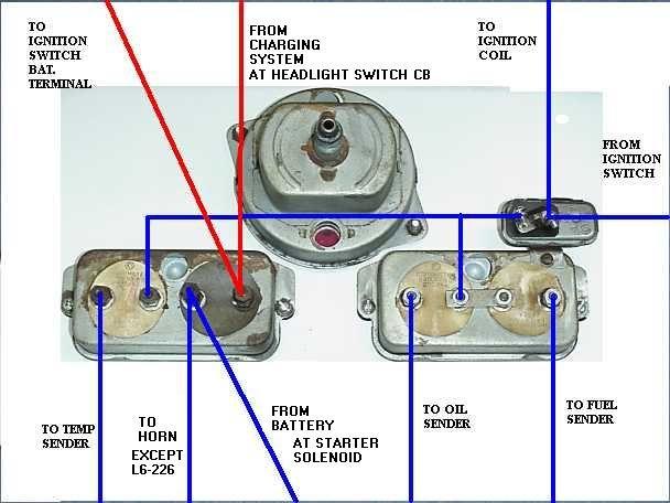 1955 Willys Pickup Wiring Diagram | Wiring Diagram