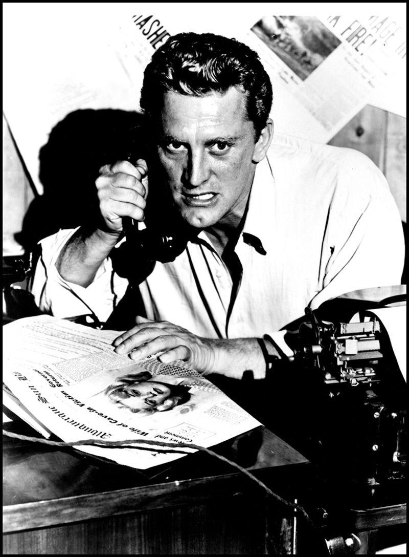 kirk douglas en el gran carnaval cine posts kirk douglas en el gran carnaval 1951
