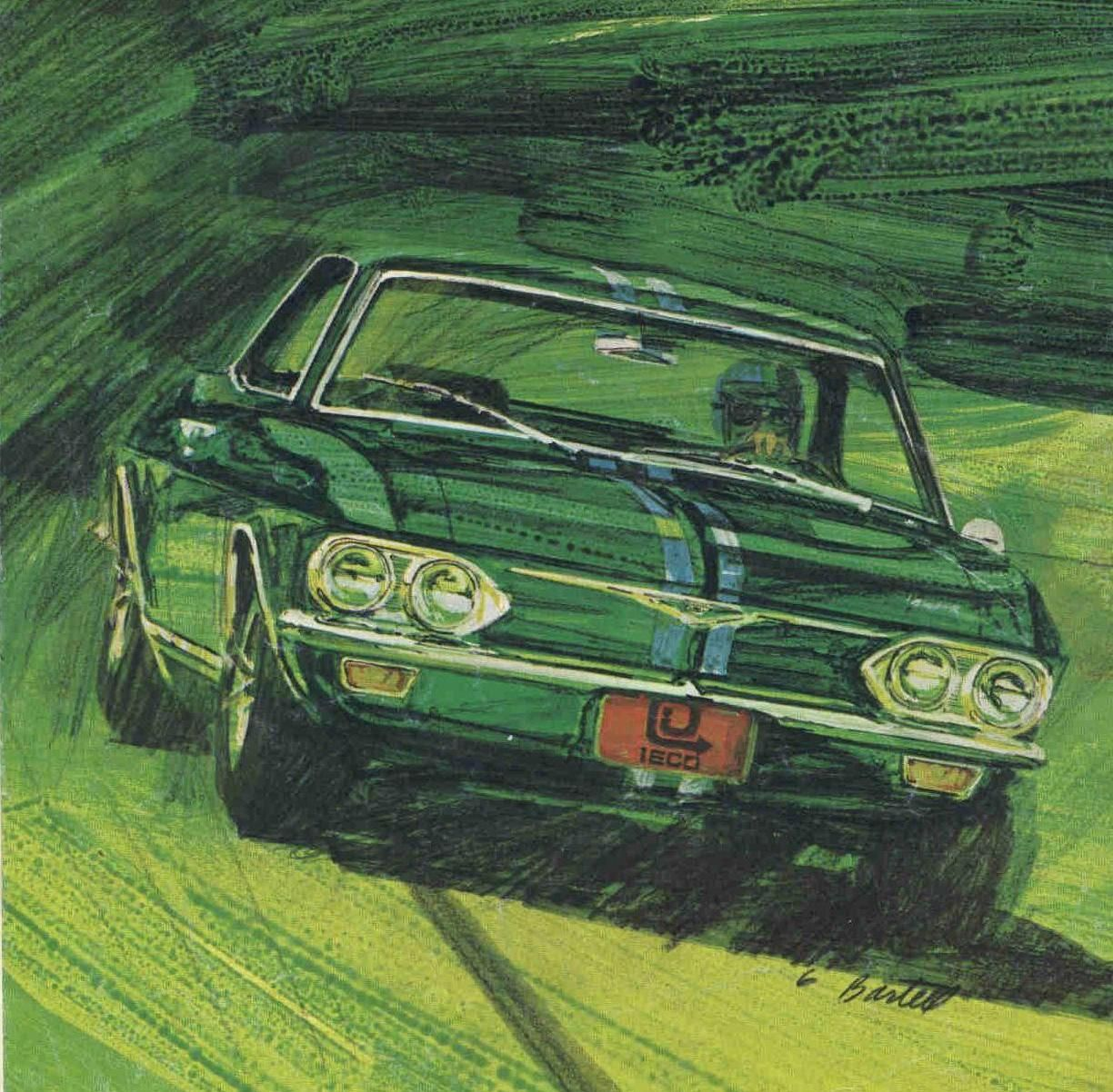 The Corvair Sprint By Fitch An Original Lost And Found Mycarquest Com European Cars Sports Wagon Monza