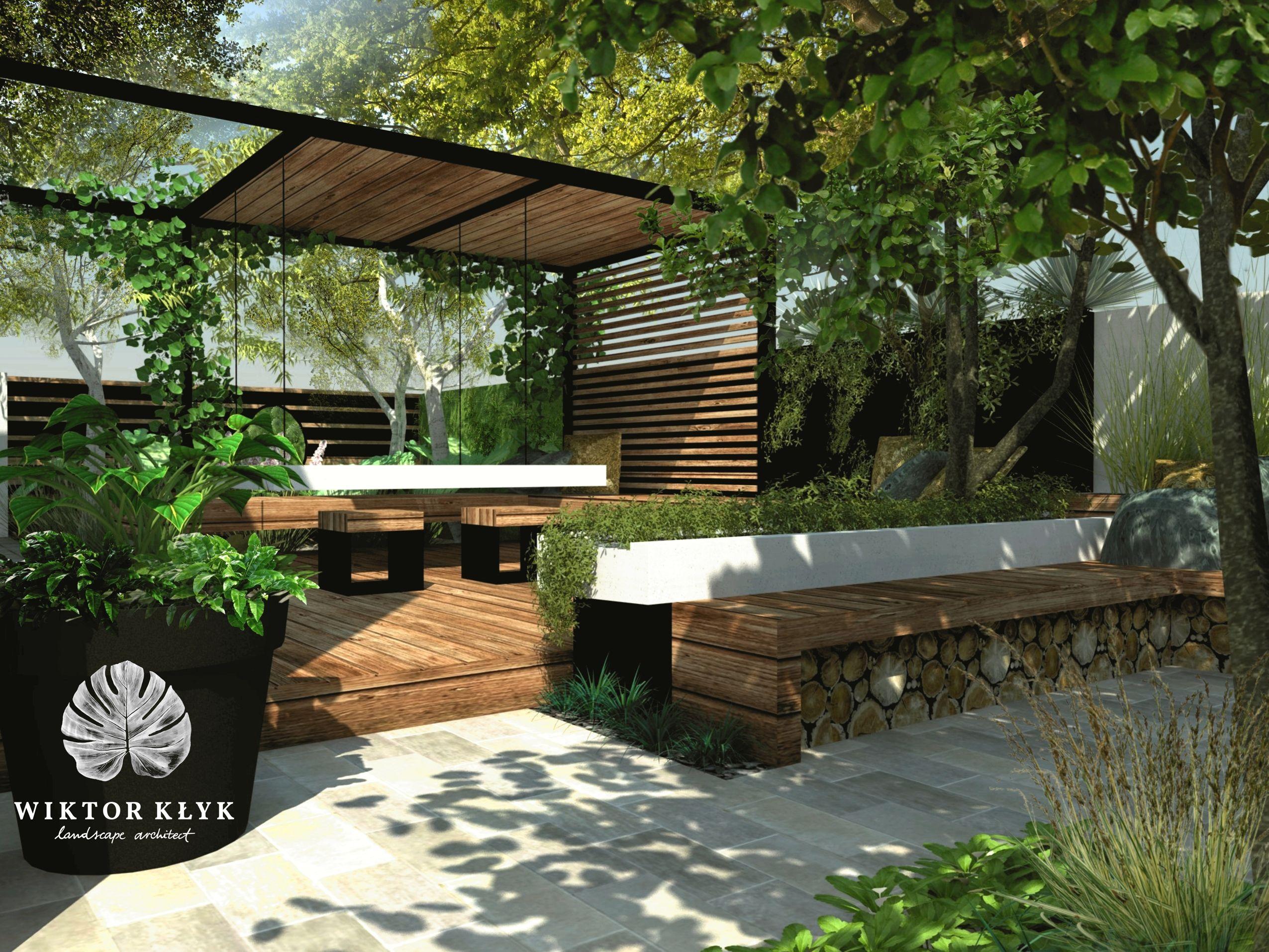 Modern Garden By Wiktor Kłyk Landscape Designer. #Gardens, #Garden Designu2026