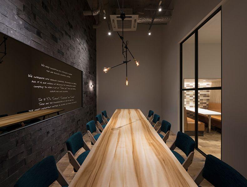 ユニオンテック株式会社 旧オフィス オフィスデザイン 応接室 会議室