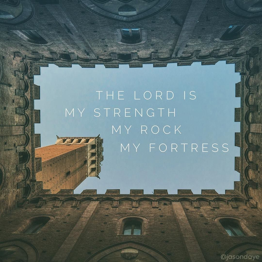 He Is Our Rock I Love You O Lord My Strength. The Lord Is My