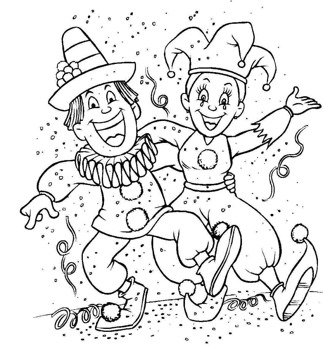 A Historia Do Carnaval Carnaval Thema Carnaval Kleurplaten