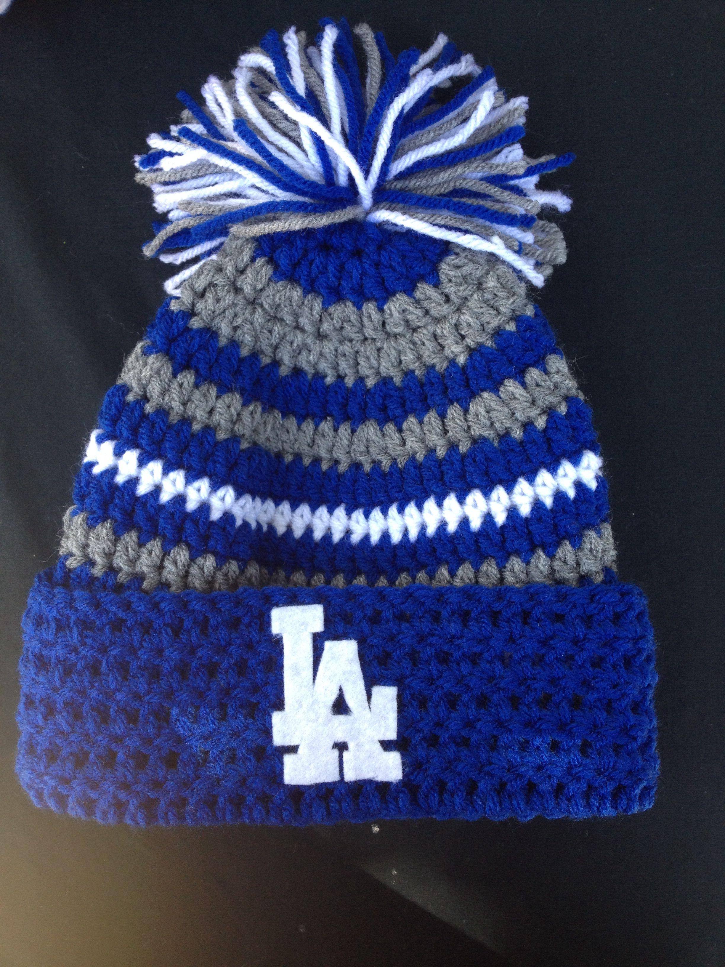 5b70e1aec43 LA Dodgers Beanie