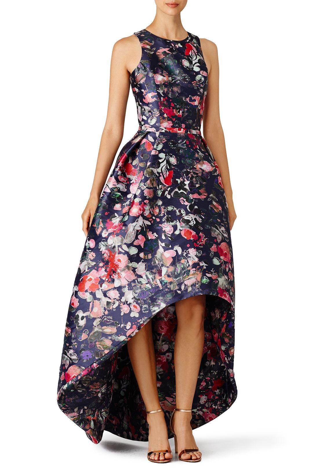 Rent Floral Jadore Gown by ML Monique Lhuillier for $105 - $115 only ...