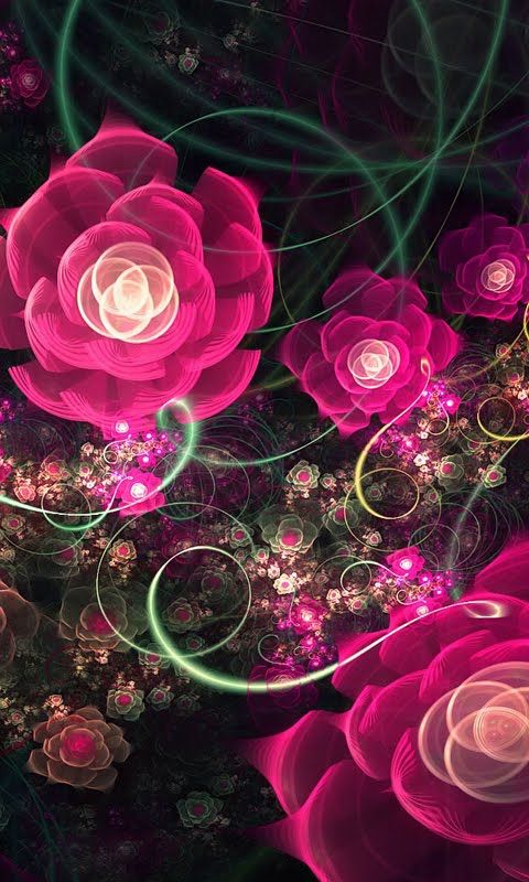 Download Flower Rose Abstract Wallpaper For Nokia N Epic Car