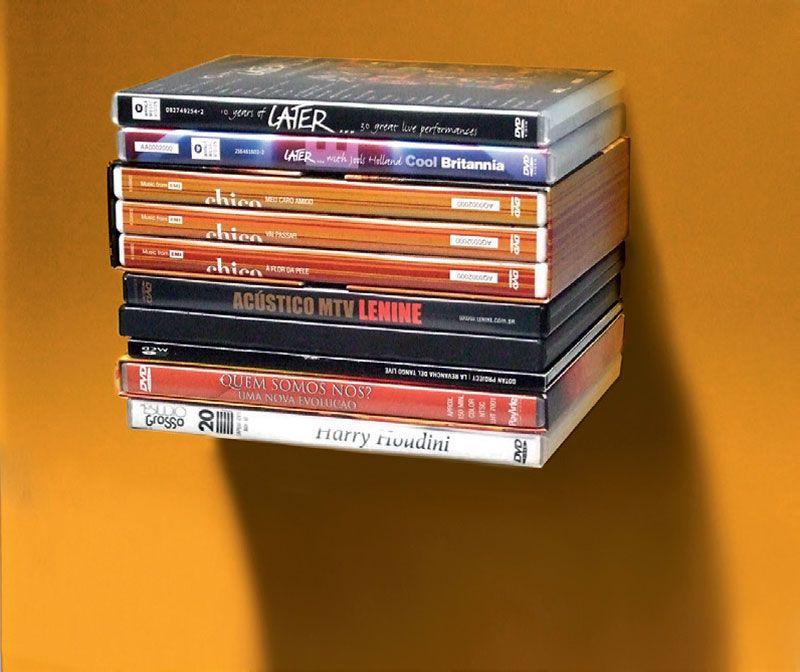 13 organizadores para guardar cds dvds blu rays e vinis - Para guardar cds ...