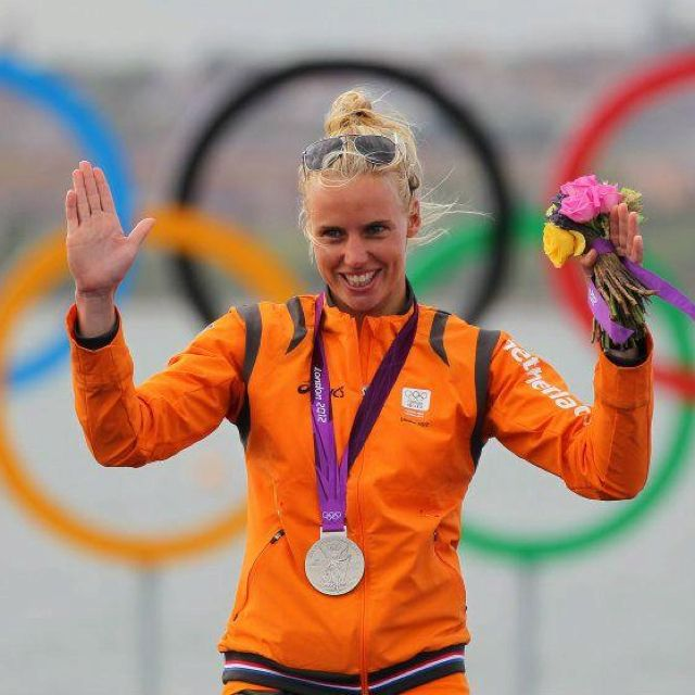 Olympic (2012) silver medal winner in solo sailing (laser) Marit Bouwmeester. << Repinned by @Boats for Sale UK. Follow us on Twitter or find us on Facebook for news, updates and more!