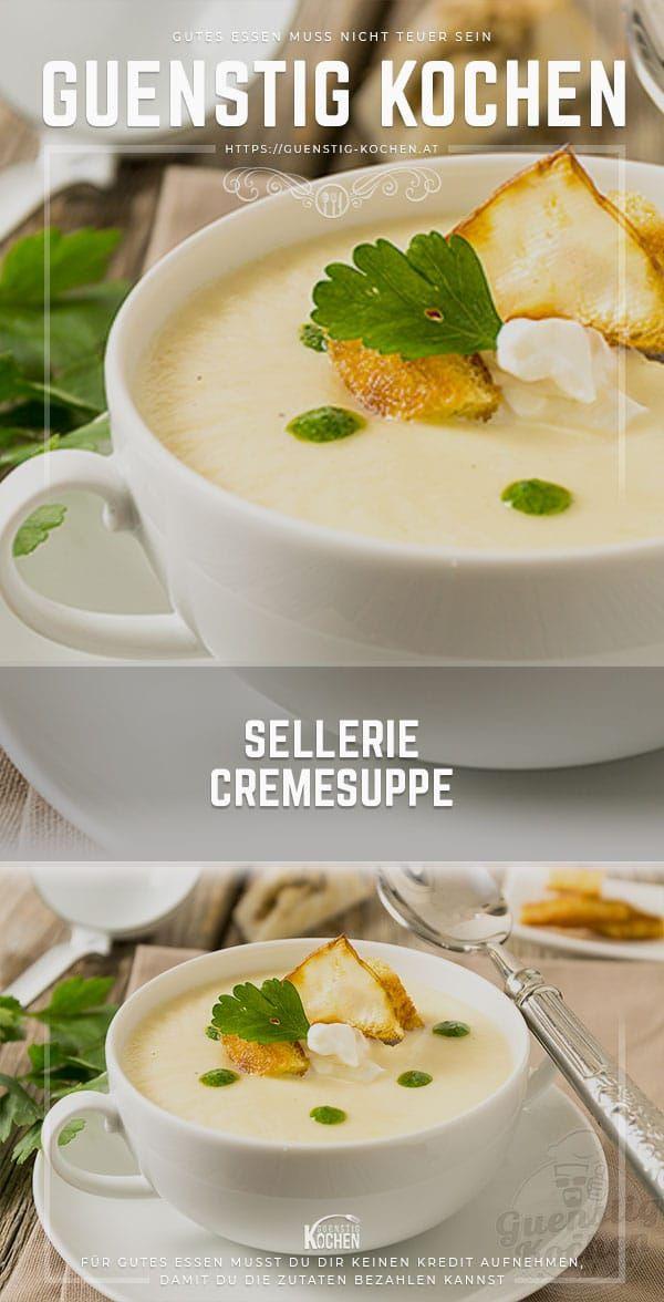 Selleriecremesuppe - Cremiger Genuss aus der vielseitigen Knolle