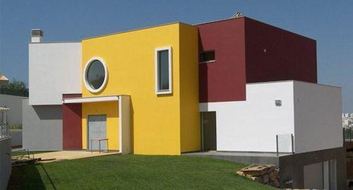 Colores para fachadas de casas elegantes una de las zonas for Fachadas de casas modernas para colorear