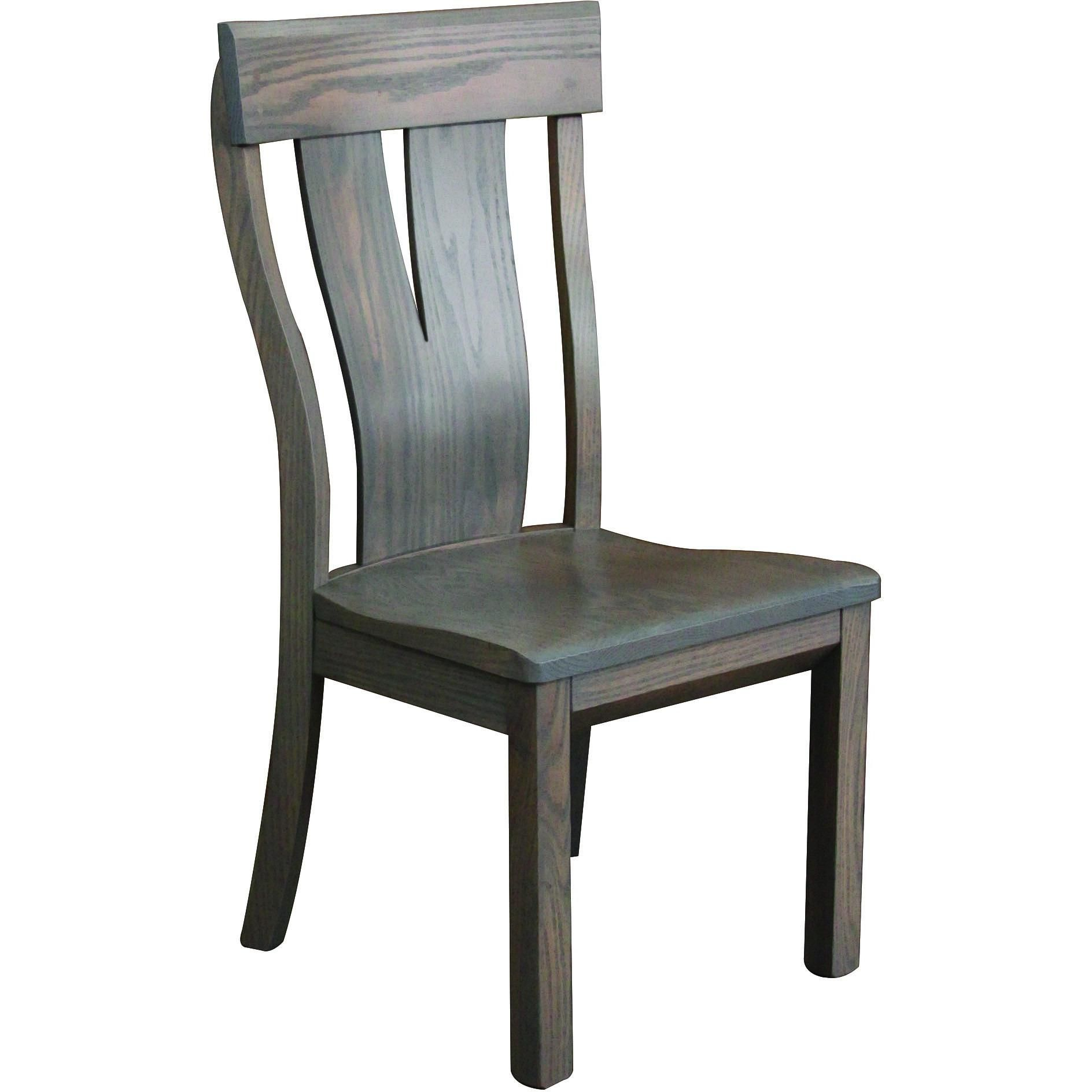 Incroyable QW Amish McKay Side Chair U2013 Quality Woods Furniture