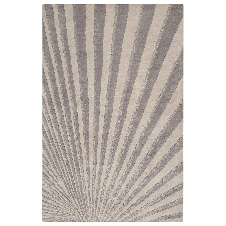Plush Rug Zinc: Surya Candice Olson Burst Gray Tufted Wool Rug @Zinc_Door